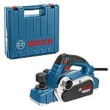 Bosch Professional Handhobel GHO 26-82 D (710 Watt, 230 Volt, Parallelanschlag, Sechskantstiftschlüssel SW 2,5, Stoffstaubbeutel, im Koffer)