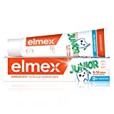 ELMEX Zahnpasta JUNIOR, 1 x 75 ml - Zahncreme für Kinder von 6-12 Jahren mit mildem Geschmack, wirksamer Kariesschutz