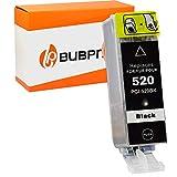 Bubprint Kompatibel Druckerpatrone als Ersatz für Canon PGI-520BK für Pixma IP3600 IP4600 IP4700 MP540 MP550 MP560 MP620 MP630 MP640 MP980 MP990 MX860 MX870