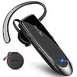 New bee Bluetooth Headset Wireless Freisprech Telefon 5.0 Bluetooth-Headset mit Mikrofon für iPhone...