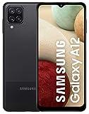 Samsung Galaxy A12 128GB Handy, schwarz, Black, Dual SIM, Android 10
