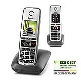 Gigaset Family – 2 schnurlose Telefone mit großem, farbigem Display und hoher Reichweite –...