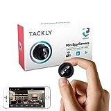 TACKLY Mini Kamera Spion WLAN - Spycam versteckte WiFi HD 1080p - Mini kleine Camera live übertragung Handy - Spionagekamera getarnt - Hidden spy cam