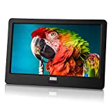 Tragbarer Mini Fernseher - August DA900D - 9 Zoll mit Akku - Portabler hochauflösender LCD TV mit...
