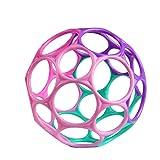 Oball Classic, Flexibles und leicht Greifbares Design für Kinder Jeden Alters, Pink/Lila