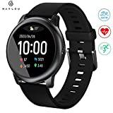 Haylou solar 3 Smartwatch,1.28 Zoll Touch-Farbdisplay Fitness Armbanduhr mit Pulsuhr Fitness Tracker...
