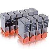 10x kompatibel Druckerpatronen für Canon mp360 mp370 mp375 mp390 mpc190 mpc200 ip1000 ip1500 ip200 mp110 mp130 i250 i255 i320 i350 i355 i450 i470 s100 s200 s300 s330