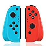 TUTUO Wireless Controller für Nintendo Switch, 2er-Set Links Rechts Replacement Joystick für Joy...