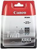 Canon Tintenpatrone PGI-35BK Doppelpack - schwarz 9,3 ml - Original für Tintenstrahldrucker