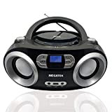Megatek CB-M25BT CD Player und Bluetooth USB Radio Boombox, FM-Radio, USB-Playback, Bluetooth,...