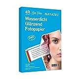 100 Blatt fotopapier 10x15 hoch glänzend tintenstrahldrucker 240g/m² Photopapier Fotokarten...