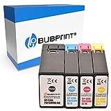 Bubprint Kompatibel Druckerpatronen als Ersatz für Canon PGI-1500XL für Maxify MB2000 MB2050 MB2100 MB2150 MB2155 MB2300 MB2350 MB2700 MB2750 MB2755 Multipack BK C M Y 4er-Pack