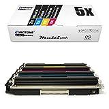 5X Müller Printware Toner für Canon I-Sensys LBP 7010 7018 c ersetzt 729 Black Cyan Magenta Yellow