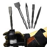 4PCS Wide Scraping Meißel Sechskantschaft, Elektro-Pick, Bohrhämmer und Abbruchhämmer, für Elektro-Abbruchboden und Schaberwand