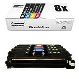 8X Eurotone Toner für Canon Laserbase MF 8180 c ersetzt 701 9284A003-9287A003