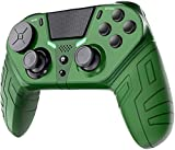 TUTUO Wireless Controller für PS4, Drahtloser Joystick Controller Bluetooth Gamepad Joypad Joystick mit Dual-Vibration Rechargable Remote sechsachsigem Compatible Avec PS4