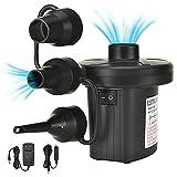 Elektrische Luftpumpe, 2in1 Luftmatratze Pumpe Elektropumpe Luftpumpe für Luftmatratze für aufblasbare Matratze,Sofa,Luftmatratze Pool,Boot,Schwimmring