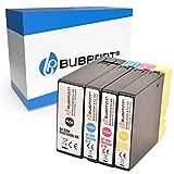 Bubprint Kompatibel Druckerpatronen als Ersatz für Canon PGI-2500XL PGI-2500 XL für Maxify iB4050 iB4150 MB5000 MB5050 MB5100 MB5150 MB5155 MB5300 MB5350 MB5400 MB5450 MB5455 BK/C/M/Y 4er-Pack