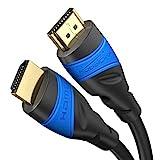 KabelDirekt – 2 m – 4K HDMI-Kabel (4K@120Hz & 4K@60Hz – spektakuläres Ultra-HD-Erlebnis – High Speed mit Ethernet, kompatibel mit HDMI 2.0/1.4, Blu-ray/PS4/PS5/Xbox Series X/Switch, schwarz)
