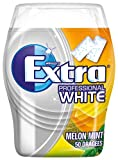 EXTRA Kaugummi | Professional White Melon Mint | Zuckerfrei | Eine Dose ( 1x 50 Dragees) | 70 g