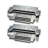 2 Logic-Seek Toner kompatibel für HP Laserjet 4 4M 4+ 5 5N 5M 98A/X Apple LaserWriter 16/1600, Pro 600 630, Brother 960 1260 HL 1260 DX NE, Canon LBP 1260, LBP 860 1260 EX - Schwarz, je 8.800 Seiten