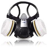 Dräger X-plore 3300 Maler Halbmasken-Set inkl. A2 P3 Kombi-Filter   Größen S/M/L   gegen Gase, Dämpfe, Fein-Staub und Partikel   Größe M