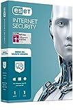 ESET Internet Security 2020   1 Gerät   1 Jahr   Windows (10, 8, 7 und Vista), macOS, Linux und Android   Aktivierungscode in Standardverpackung