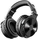 OneOdio Bluetooth Kopfhörer Over Ear [Bis zu 110 Stdn & BT 5.2] Geschlossene Musik Headphones Kabellos mit 50mm Treiber, HiFi Stereo Faltbares Bass Headset mit Mikrofon für Laptop/Handy/PC