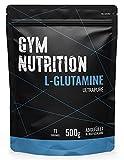 L-GLUTAMIN Ultrapure Pulver extra hochdosiert & 99,5% rein - Laborgeprüft und vegan – ideal für Body-Builder Made in Germany 500-g (NEUTRAL)