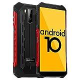 Ulefone Armor X5 Outdoor Handy - Android 10.0 Rugged Smartphone IP68/IP69K Wasserdicht Stoßfest...