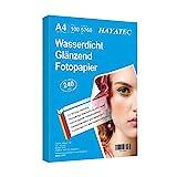 100 Blatt Photopapier A4 hoch glänzend tintenstrahldrucker 240g/m² fotopapier Fotokarten...