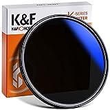 K&F Concept K Pro 55mm ND Filter Slim Variabler Graufilter ND2-400 (1-8.6 Stop) Neutral Graufilter