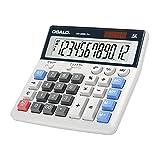 Taschenrechner große Tasten großes Display 12-stelliger Tischrechner Bürorechner (OS-200ML)