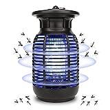 Elektrischer Insektenvernichter,2021 Upgrade Mückenlampe mit 2600V UV Insektenfalle Moskito Killer Insektenkiller - Mücke, Fliege, Motte, Wespe, Käfer für Innen Schlafzimmer und Gärten