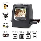 DIGITNOW! Dia Film Scanner (Film/slide, super 8 film, 35mm und 110,126,SD-/MMC-Karten Steckplatz,...