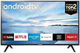 TCL 40ES561 LED Fernseher 100 cm (40 Zoll) Smart TV (Full HD, Triple Tuner, Android TV, Prime Video,...