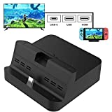 Gulikit Switch Dock Replacement Pocket Dock Compatible With Switch, Portable TV Docking Station...