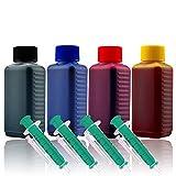 Cenado 400ml Nachfülltinte Druckertinte Refillset für Canon-Druckerpatronen PG-560 PG-560XL CL-561 CL-561XL inkl. Zubehör