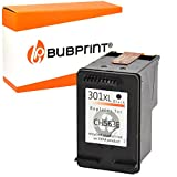 Bubprint Druckerpatrone kompatibel für HP 301 XL für DeskJet 1000 1010 1050 1510 2050 2540 2544 2545 3050A 3055A Envy 4500 4502 4504 4508 5530 OfficeJet 2620 2622 4630 4632 4634 4636 Schwarz