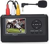 DIGITNOW! Video Grabber mit MIC, Video Digitalisieren für VHS, Videorekorder, Bänder, Hi8,...