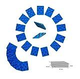 Kunststoffkeile 5,7x4,5cm- 20 Stück zum Verlegen von Parkett Laminatverlegung Verlegewerkzeug Verlegehilfe