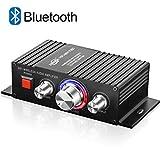 Mini HiFi Verstärker Bluetooth TTMOW 2 x 50W Stereo Audio Amplifier Bass Kanal Audio Endstufe...