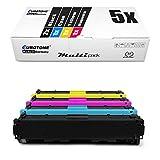 5X Müller Printware Toner für Canon ImageClass LBP 7110 cw ersetzt 731 6269B002-6272B002