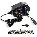 LEICKE Universalnetzteil 5-15 V   Bis zu 2,4 A Ausgangsstrom   Für LED Streifen, Smartphones,...