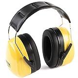 PRETEX Professioneller Kapselgehörschutz mit SNR 31 dB, hoher Tragekomfort, geringes Gewicht, stufenlos verstellbare Kopfbügel | CE-Zertifizierung | Gehörschutz, Ohrenschutz, Lärmschutz, Ohrenschoner