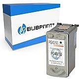 Bubprint Kompatibel Druckerpatrone als Ersatz für Canon PG-40 für Pixma IP1600 IP1700 IP2200 IP2500 IP2600 MP140 MP150 MP160 MP170 MP180 MP190 MP210 MP220 MP450 MP450X MP460 MX300 MX310 Schwarz
