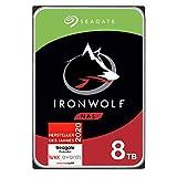 Seagate IronWolf NAS interne Festplatte 8 TB HDD, 3,5 Zoll, 7200 U/Min, CMR, 256 MB Cache, SATA 6...