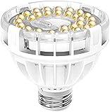SANSI LED Pflanzenlampe Vollspektrum E27 15W Weiß Pflanzenlicht für Zimmerpflanzen LED Grow Light Wachstumslampe für Gewächshäusern,Innengärten, Blumen, Gemüse, Obst
