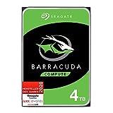 Seagate Barracuda, interne Festplatte 4 TB HDD, 3,5 Zoll, 5400 U/Min, 256 MB Cache, SATA 6 GB/s,...