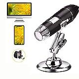 USB Digital Mikroskop - Ultra HD Vergrößerung Endoskop - 50X bis 1600X Mikroskop mit...